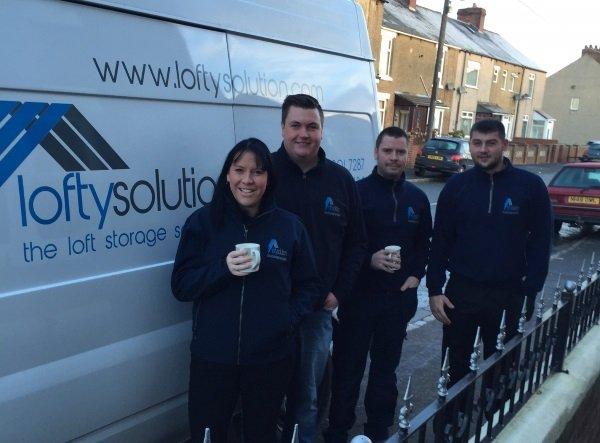 The Lofty Solution team