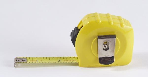 Picture of a Tape Measure for loft storage estimates