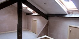 Loft hobby rooms