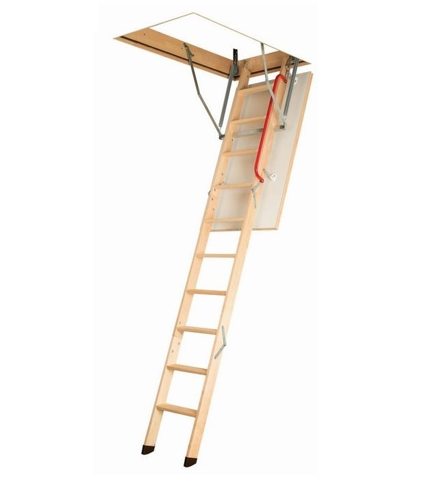 Fakro wooden loft ladder