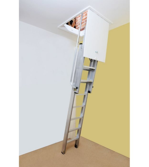 Youngman aluminium 2 section deluxe loft ladder
